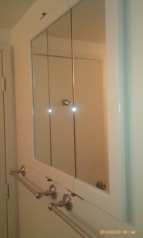 Bathroom Mirrors Hawaii mount   abchandymanhawaii